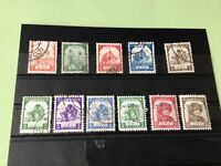 Burma Japanese Occupation 1943/1944 mint never Hinged & used Stamps Ref 51788