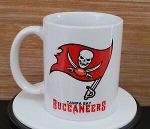 TAMPA BAY BUCCANEERS Mug Taza Cup 11oz Souvenir Football Ceramic Super Bowl NFL
