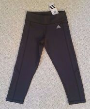 NWT ADIDAS WOMEN'S  KI 3/4 TIGHTS CLIMALITE SIZE S AUTHENTIC
