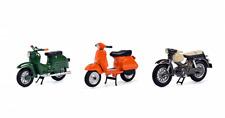 450380100 Schuco 1:43 Ser mit 3 Motorrollern Kreidler Florett, Simson Schwalbe,