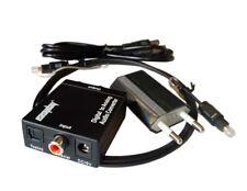 Optique numérique vers analogique RCA L/R 3,5 mm Convertisseur adaptateur audio