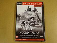 DVD / WOII - IN WOORD & BEELD NR.9 - OORLOG IN NOORD-AFRIKA