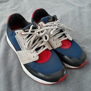 Lorna Jane Size AUS 6 / EUR 37 Elevate 18 Navy Shoe Sneaker walking running gym