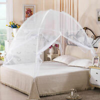 Folding Mosquito Net Tent Bed Portable Anti Zipper Mosquito Bites POP UP Net