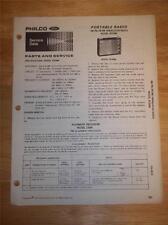 Philco-Ford Service Manual~R230BK Shortwave Radio~Original