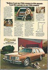 1977 OLDSMOBILE CUSTOM CRUISER advertisement, OLDS Station Wagon ad