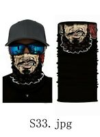 1 PCs FACE MASK BANDANA Cover Tube Neck Scarf Headband  Microfiber US STOCK