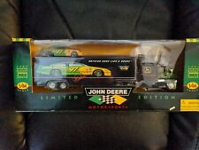 John Deere 1997 Premier Diecast Transporter with Stock Car Limited Edition 1:64