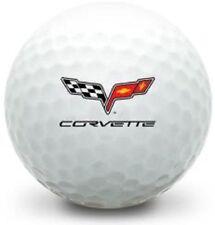 1 Dozen (Corvette Logo) Mint Titleist Pro V1 Golf Balls #1 Ball In Golf !