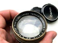 Lens TESSAR ZEISS 1 : 4,5 F-21cm E KRAUSS PARIS
