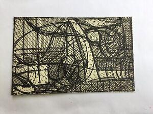 Madge Gill Outsider Art Artist Brut, Spiritualist original drawing pen & Ink  2