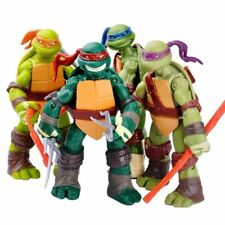 Teenage Mutant Ninja Turtles Film TMNT Set von 4 Action Figuren Spielzeug  neu