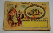 Antique 1903 Calendar Berkshire Life Insurance Co. Pittsfield Mass..