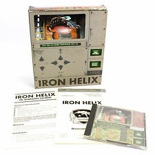 Iron Helix PC CD-ROM Game by Spectrum Holobyte In Big Box - 1993 - CIB - VGC