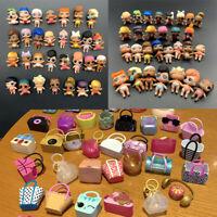 Lot 20Pcs LOL Surprise Doll Lil Sister + bag cap accessory toy -random no repeat