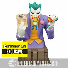 Batman Animated Exclusive The Joker Laughing Fish Bust NEW Toys Diamond Select