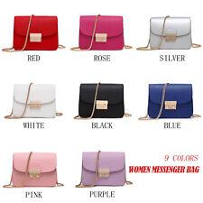 Women Handbags Small Chain Messenger Bag Candy Color Crossbody Shoulder Bags