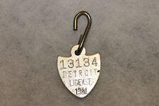 Original 1941 dated Aluminum (Animal) Dog Tag from Detroit