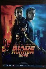 Harrison Ford Jared Leto Ryan Gosling - Blade Runner 2049 - POLISH MOVIE FLYER