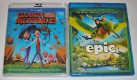 Kid Blu-ray 3D Lot - Cloudy With A Chance of Meatballs (Used) Epic (New)