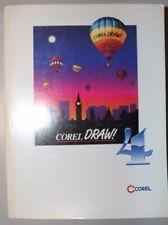 Corel Draw 4 Grafikprogramm 3 CDs Vollversion Photo-Paint 1993