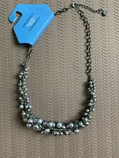 Simply Vera Wang Faceted Bead Statement Necklace Brand New!!