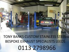 SEAT IBIZA STAINLESS STEEL EXHAUST LIFETIME GUARANTEE TONY BANKS EXHAUSTS LEEDS