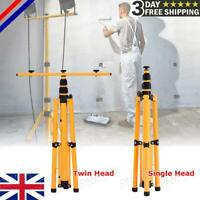 Flood Light Tripod Stand Camp Work Site Emergency Lamp Stand Single / Twin Head