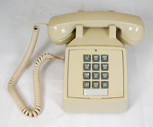 Cortelco 2500-V-AS 250044-Vba-20M Desk W/ Volume Ash
