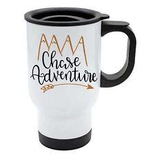Taza de viaje - Chase Adventure - Blanco Acero Inoxidable - NATURE, VIAJES, LOVE