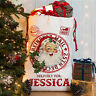 Personalised Santa Sack Father Christmas Bag Present Xmas Stocking Gift NS034