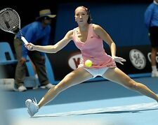 Jelena Jankovic Sexy Tennis Star in Action 8x10 Glossy Color Photo