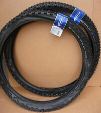 "Pair 26""x2.25 Schwalbe BLACK SHARK Tyres MTB Mountain Bike Cycle Wide Tyres 26"""
