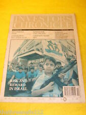 INVESTORS CHRONICLE - ISRAEL - MARCH 11 1994