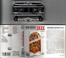 THE MODERN JAZZ QUARTET-PLUS-RARE ORIGINAL USA CLEAR CASSETTE TAPE 1987-JAZZ