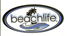 6 BeachLife® Sticker Pack,Who Loves The Beach? Economy Shipping !