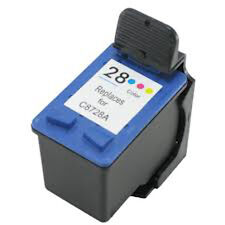 HP 28 C8728A Color Refilled Ink Cart HP PSC 1100 1110 1210 1215 1310 1315 1317
