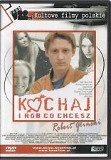 Kochaj i rob co chcesz  (DVD) 1997 Rafal Olbrychski  POLSKI POLISH