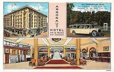 Postcard Multiple Views of Argonaut Hotel in San Francisco, California~108241