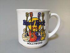 HARD ROCK CAFE HOLLYWOOD COFFEE MUG, Souvenir coffee mug, keepsake mug, EUC