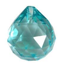 40mm Light Aqua Chandelier Wedding Crystals Ball Prism Suncatcher Feng Shui