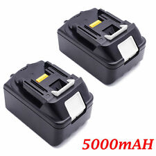 2X BRAND NEW MAKITA 18V CORDLESS BL1850 5AMP BATTERY - REPLACE AUST STOCK