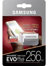256GB Samsung EVO+ micro SD Memory Card U3 4K 100MB/s For Samsung Galaxy Note 8