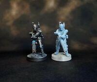 Custom Star Wars Legion Heavy Gunner Mandalorian Deathwatch Miniature Free Base