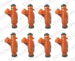 Set of 8 Bosch 0280156016 fuel injector Mercedes M113 E50 V8 5.0L A1130780249