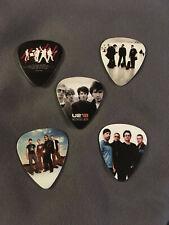 Lot of (5) Novelty Guitar Pick - U2 - Bono Group Band Photo The Edge Fast!