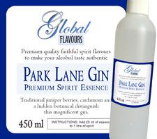 Park Lane Gin 450 ml • Premium Quality Spirit Essence Home Brew Flavour