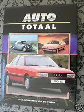 AUTO TOTAAL VW, AUDI EN AUTO UNION,QUATTRO,KEVER,GOLF,411,CABRIO,D-TYPE STUCK