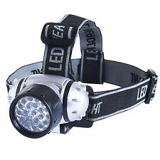 eSecure 21 LED Headlamp Super Bright 4 modes Head Torch flashlight for runners