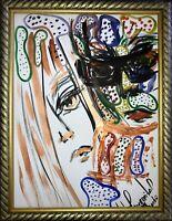 Margarita Bonke Malerei PAINTING art Bild Paar Liebe akt abstract Aquarell Kunst